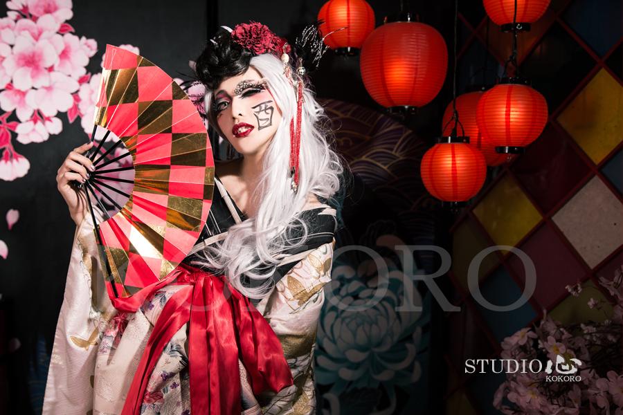 京都 花魁体験 化粧 ヘアメイク 着物 酉年