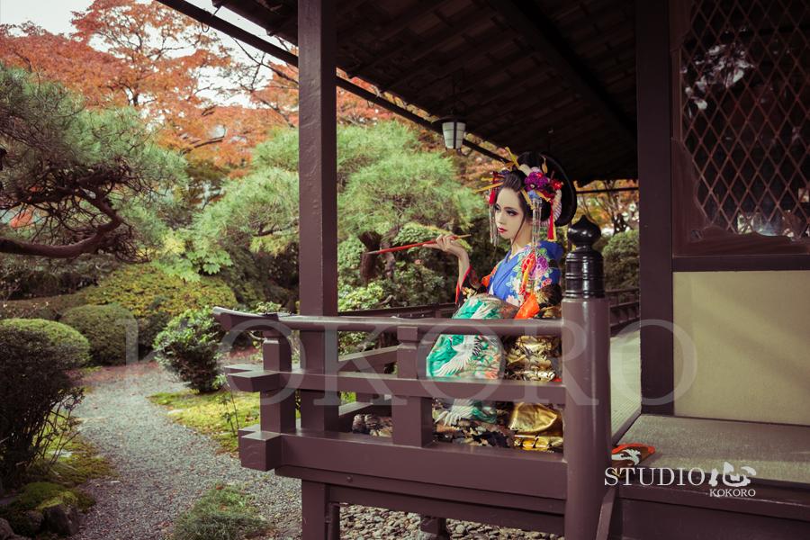 京都 花魁 体験 写真 カメラ 撮影 着物 レンタル 化粧 メイク ヘアメイク 旅行 観光