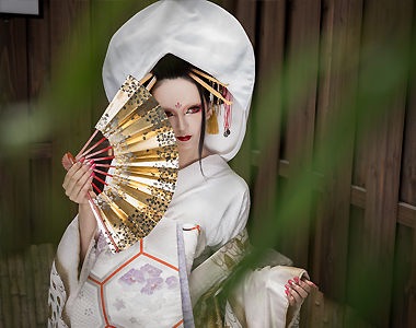 JAPANESE FOLKLORE BRIDAL COSTUME
